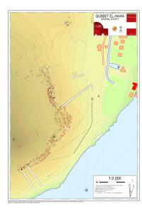 Imag.1.Plano topografico de la necropolis