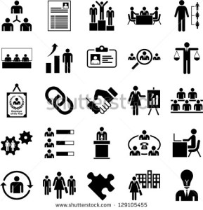 stock-vector-human-resources-management-icons-129105455